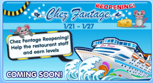 Chez Fantage Reopening