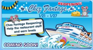 Chez Fantage Reopening