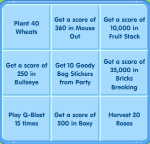 bingo grid february