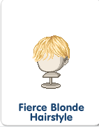 Fierce Blonde Hairstyle