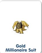 Gold Millionaire Suit