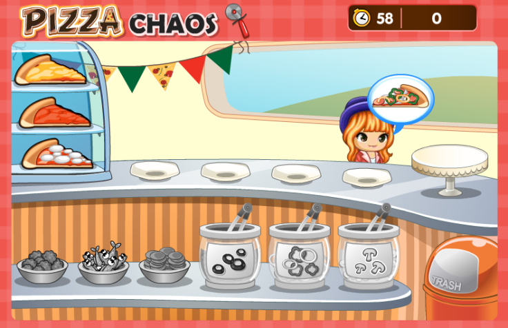 Pizza Chaos Game