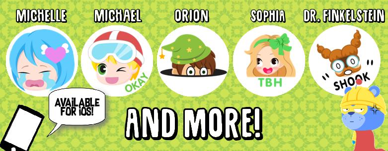 emoji pallette