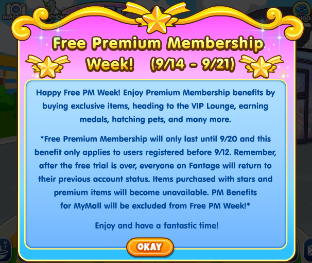 Free PM Week Description