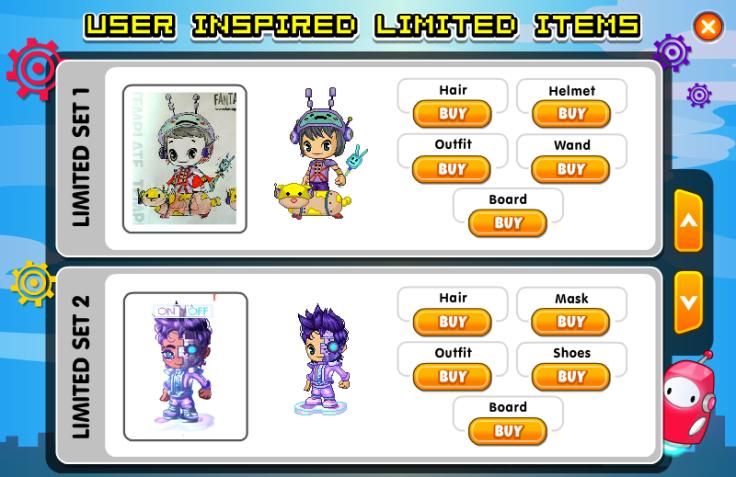Robot User Inspired Limiteds 1