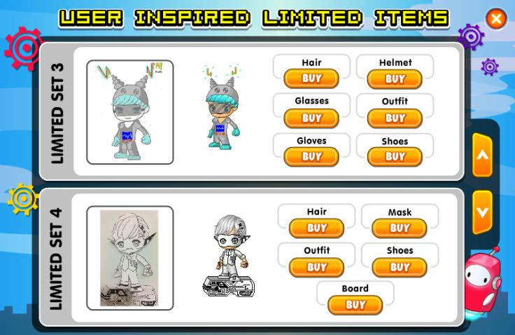 Robot User Inspired Limiteds 2