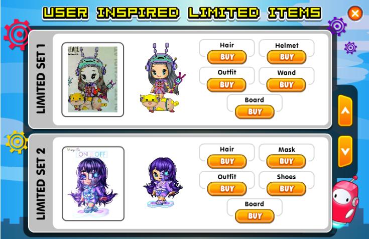 Robot User Inspired Limiteds 3