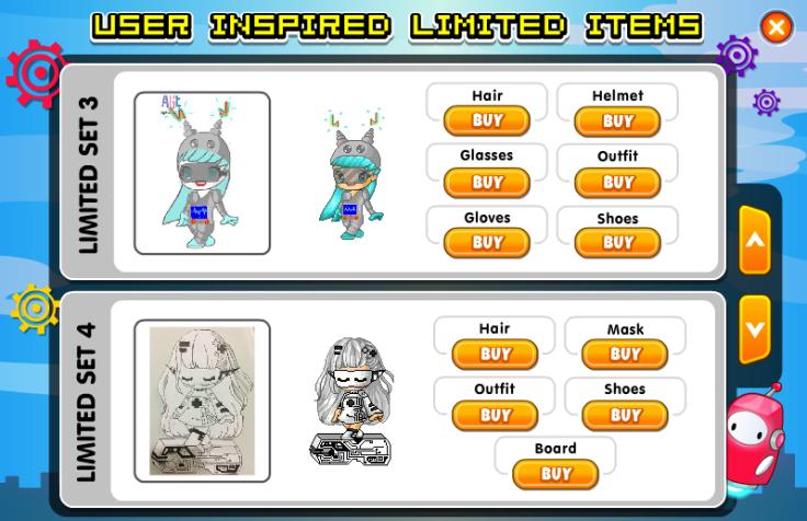 Robot User Inspired Limiteds 4