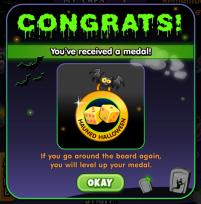 Halloween 2017 Medal