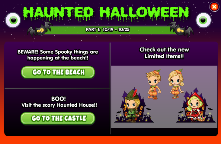 Halloween 2017 Part 1 Guide