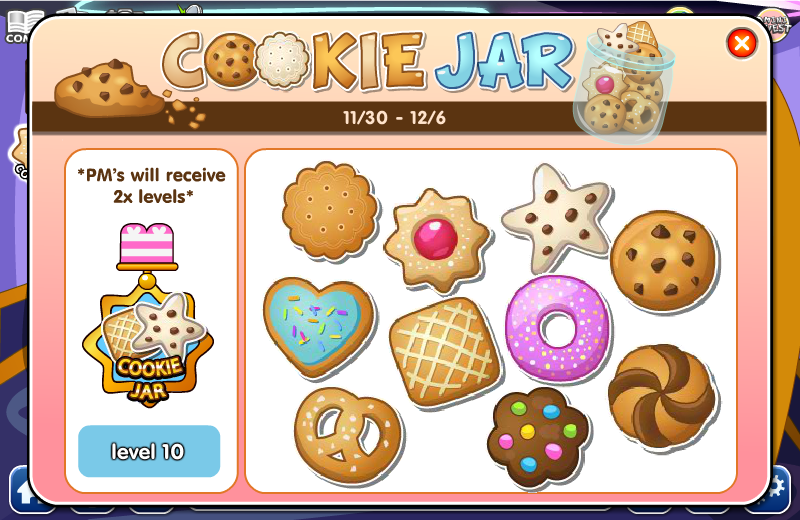 cookie jar medal