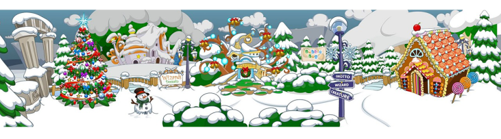 Background Christmas the Forest